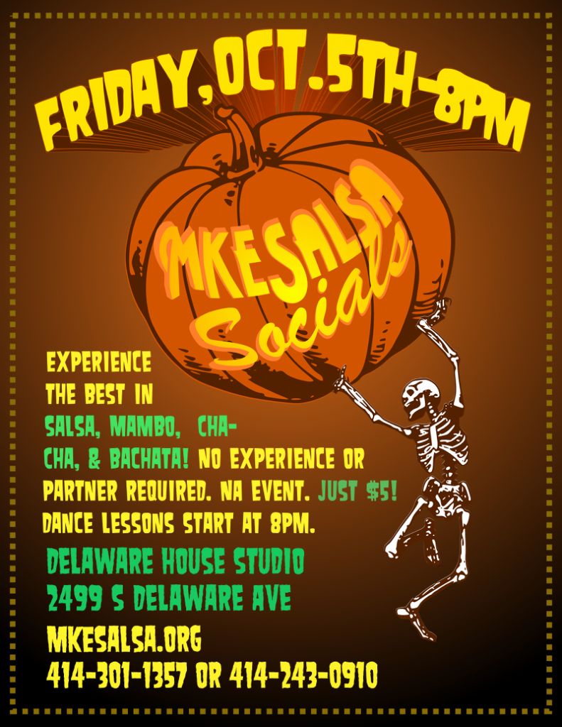 Join us at our October Salsa Social!